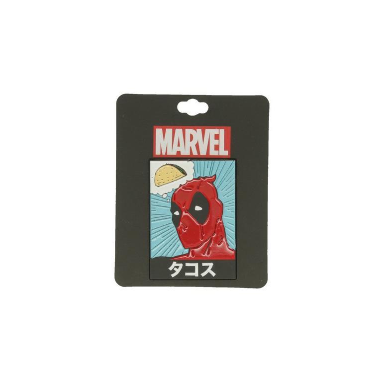 Deadpool Taco Lapel Pin