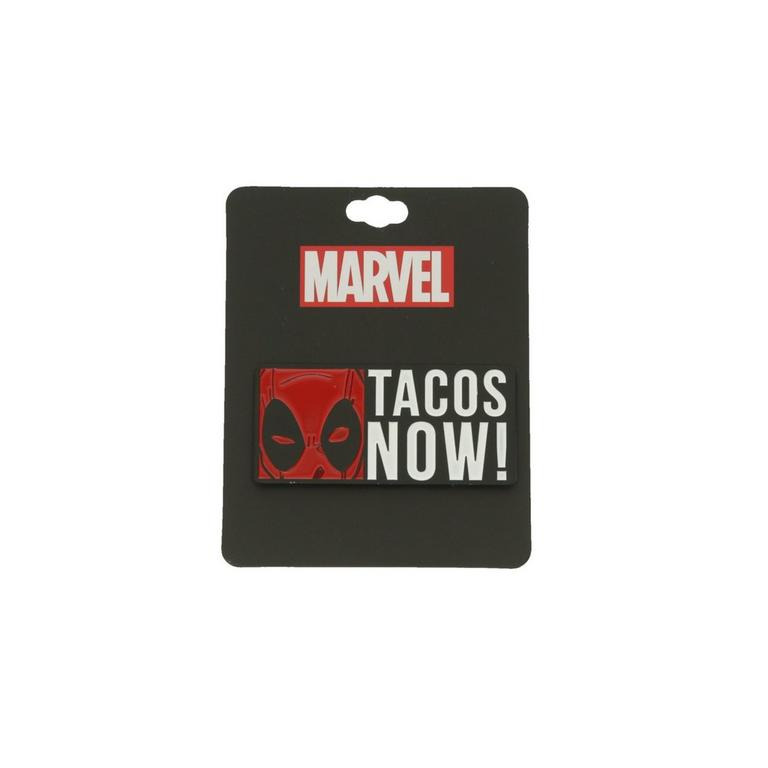 Deadpool Tacos Now Lapel Pin