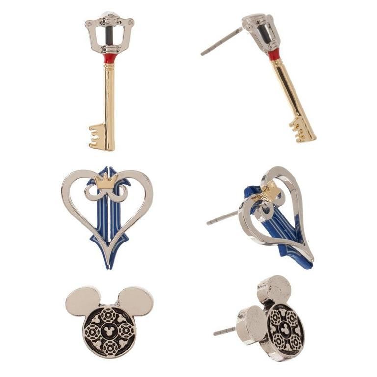 Kingdom Hearts Earrings 3 Pack