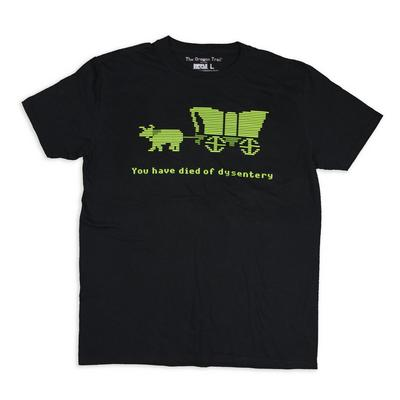 Oregon Trail Died of Dysentery T-Shirt