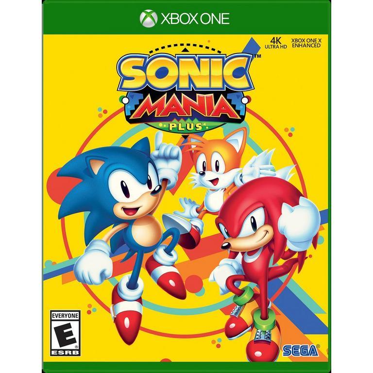 Sonic Mania Plus Xbox One Gamestop