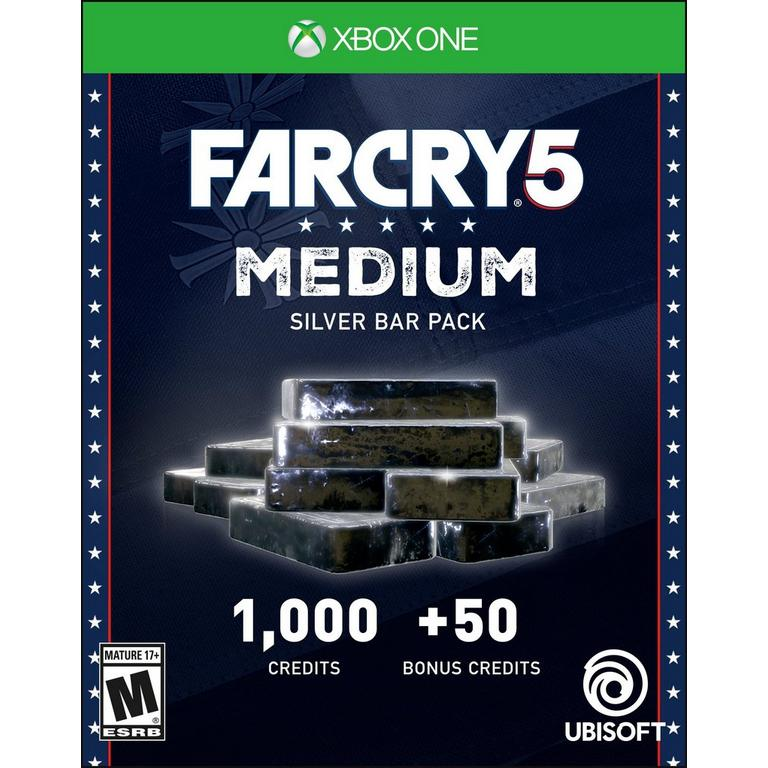 Far Cry 5 Medium Silver Bar Pack