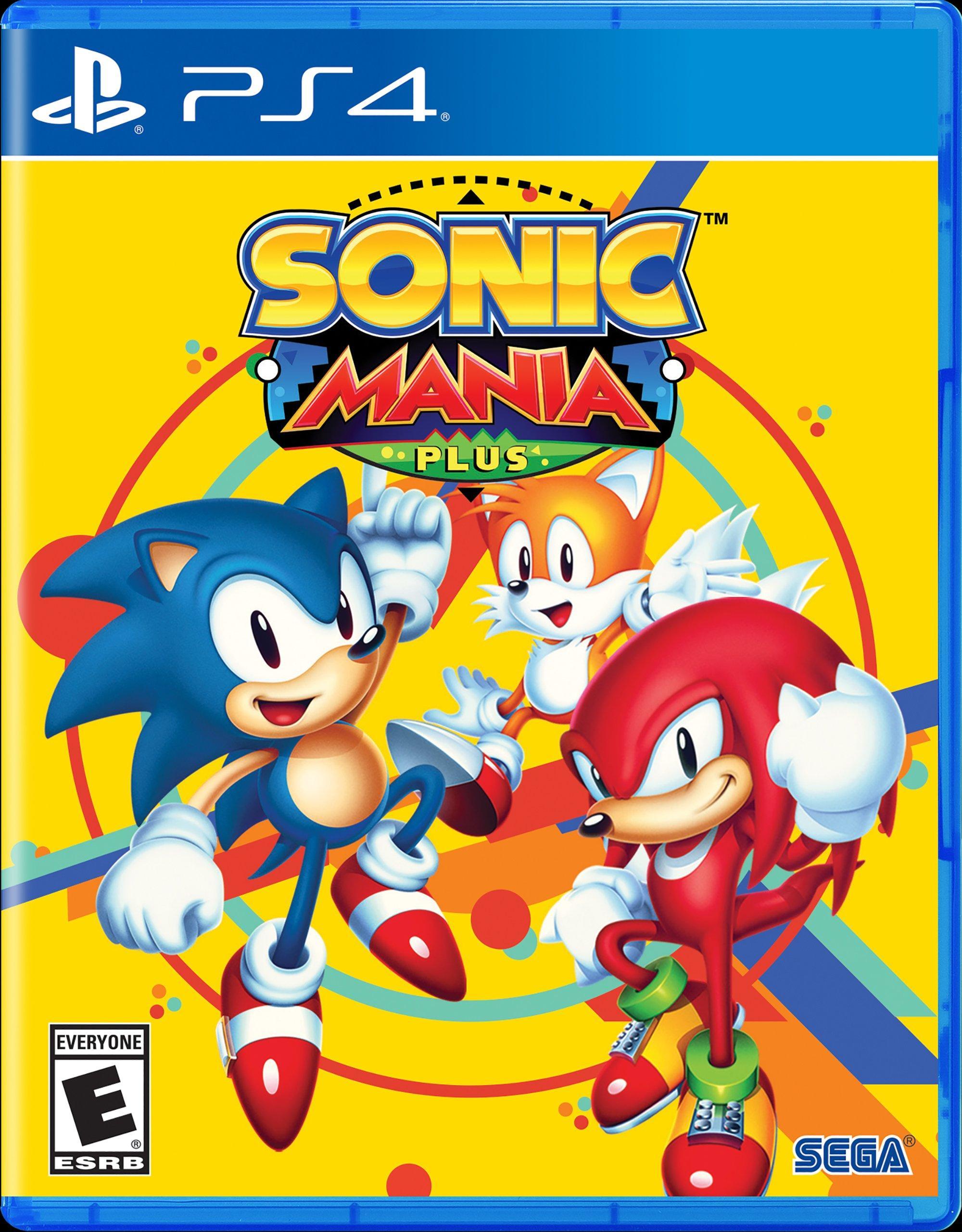 Sonic Mania Plus | PlayStation 4 | GameStop