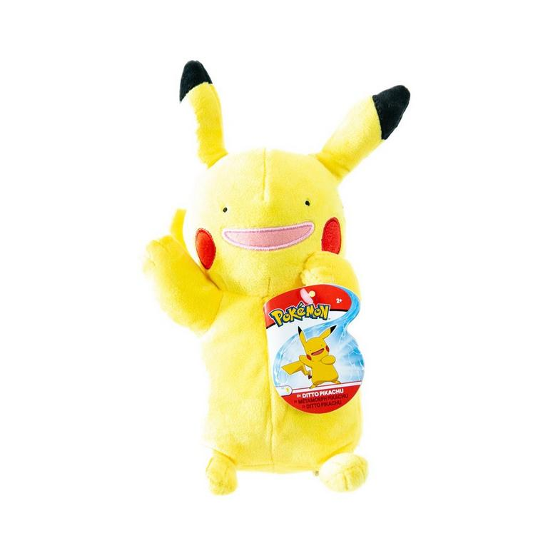 Pokemon Ditto Pikachu Plush