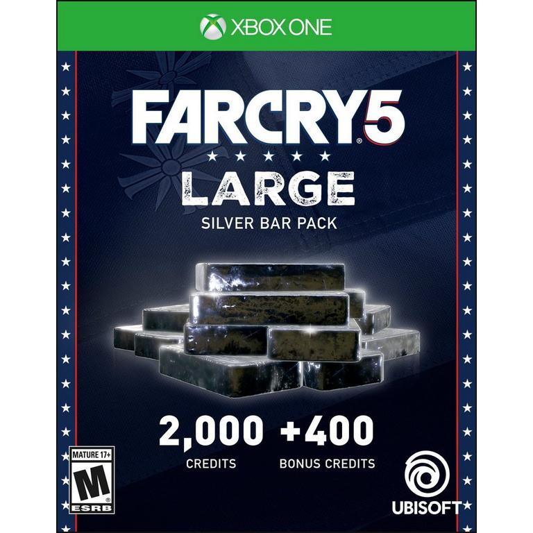 Far Cry 5 Large Silver Bar Pack