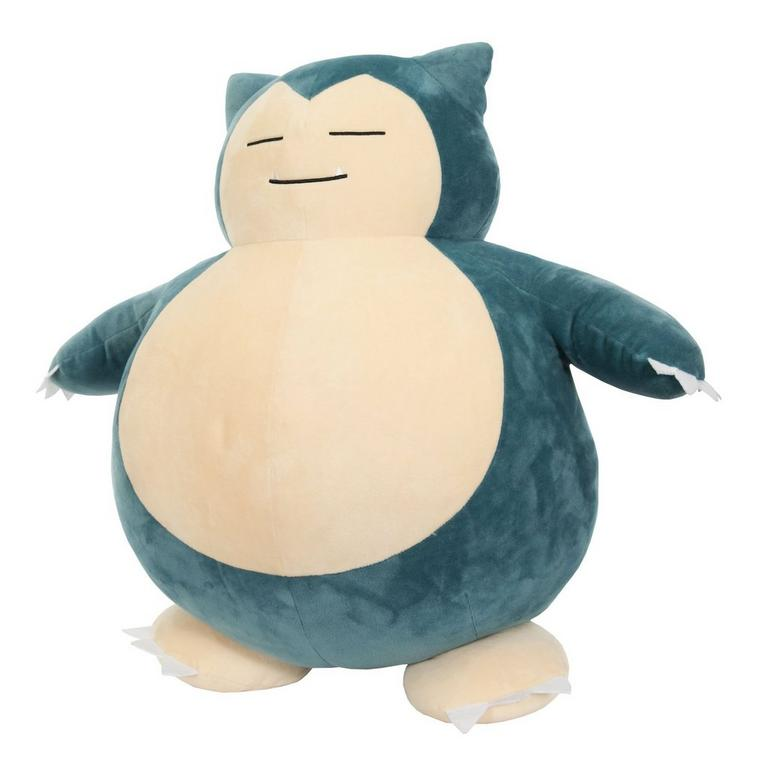 Pokemon Snorlax Plush Only at GameStop
