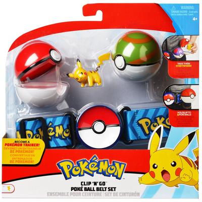 Pokemon Clip 'N Go Poke Ball Belt Set (Assortment)