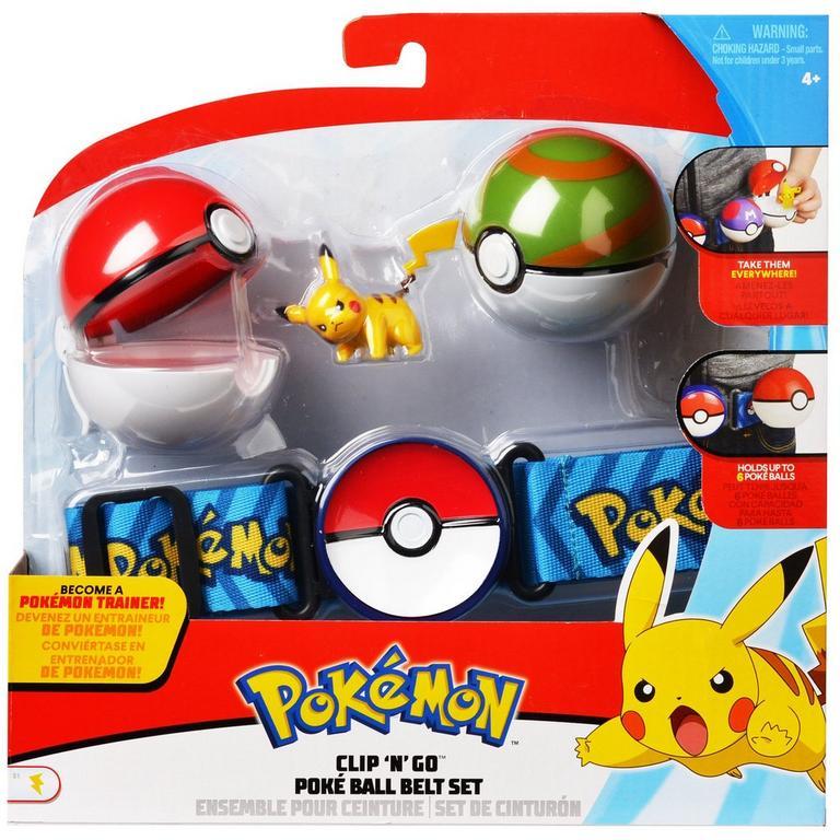 Pokemon Clip 'N Go Poke Ball Belt Set (Assortment)