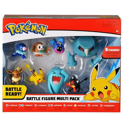 Pokemon: 8 Pack 2 inch & 3 inch Action Figures (Assortment)