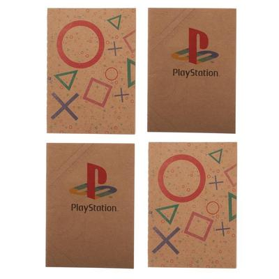 4 Pack Playstation journal