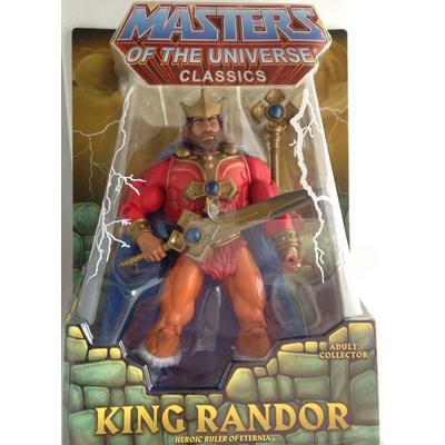 Master of the Universe Collectors King Randor Action Figure