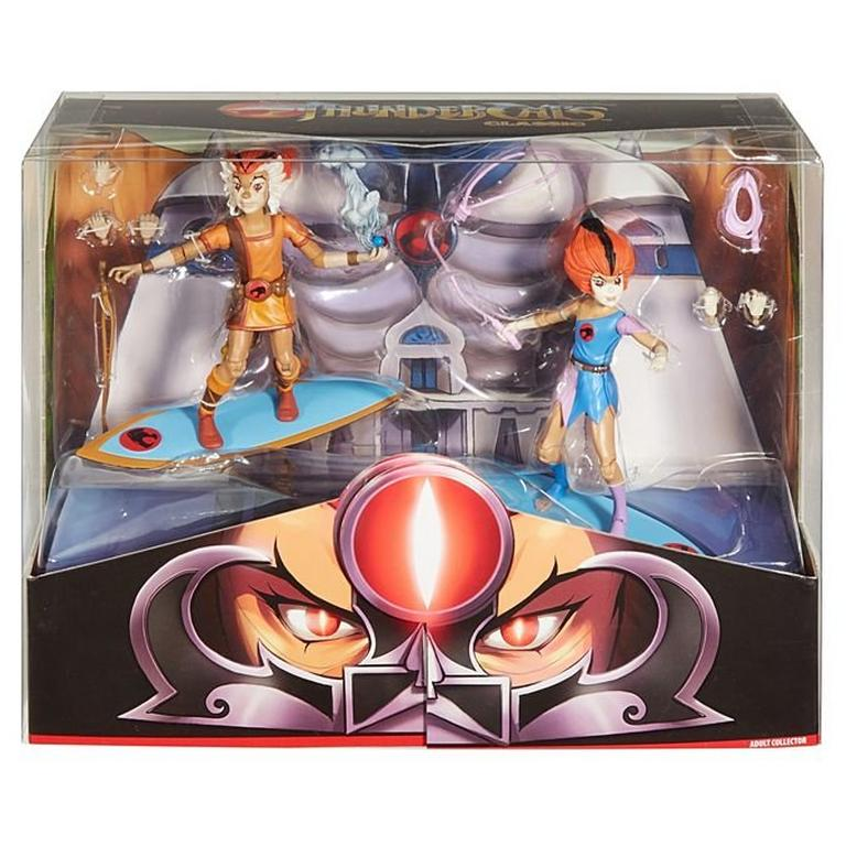 Thundercats WilyKit and WillyKat Action Figure 2 Pack