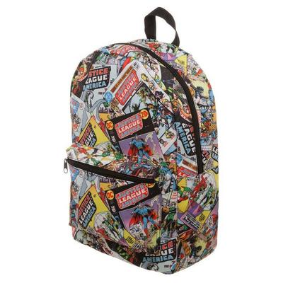 Justice League All Over Print Backpack