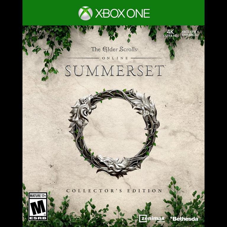 The Elder Scrolls Online: Summerset Collector's Edition