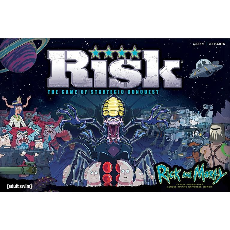Risk: Rick and Morty Edition
