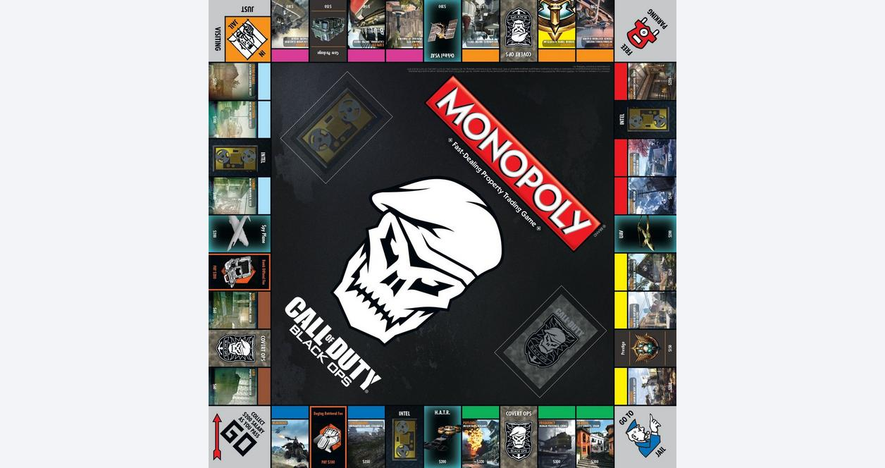 Monopoly: Call of Duty - Black Ops Edition Board Game