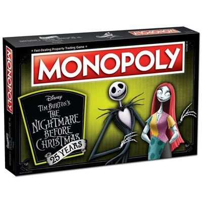 Monopoly: The Nightmare Before Christmas 25th Anniversary Edition