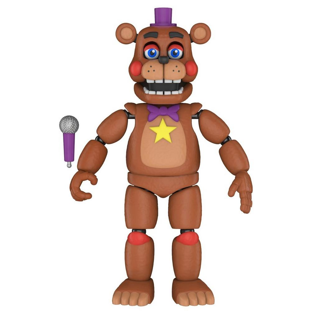 Action Figure: Five Nights at Freddy's Pizza Sim - Rockstar Freddy |  GameStop