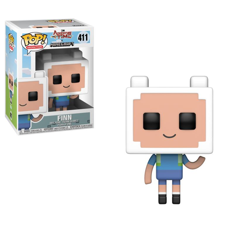 POP! Animation: Adventure Time X Minecraft Finn