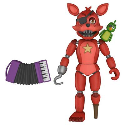 Action Figure: Five Nights at Freddy's Pizza Sim - Rockstar Foxy