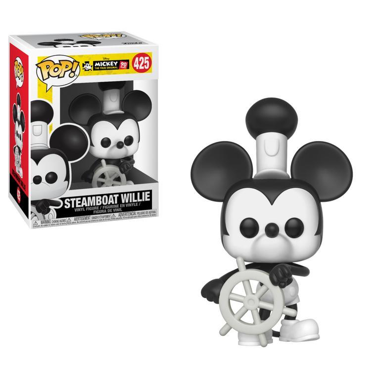 POP! Disney: Mickey 90 Years Steamboat Willie