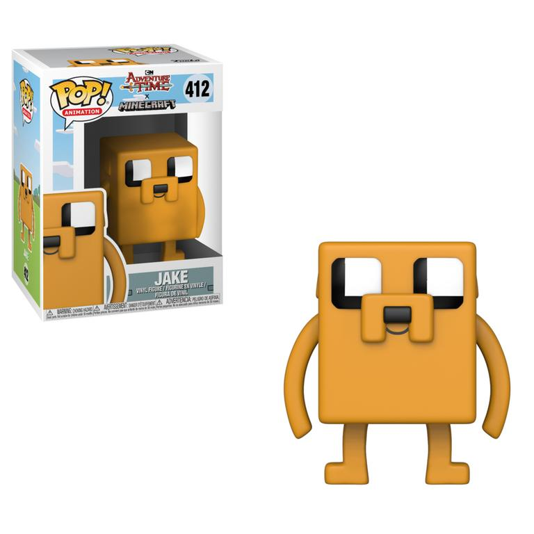 POP! Television: Adventure Time/Minecraft - Jake