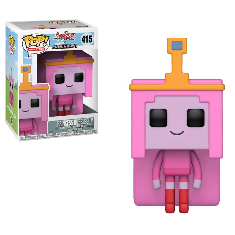 POP! Television: Adventure Time/Minecraft - P.Bubblegum