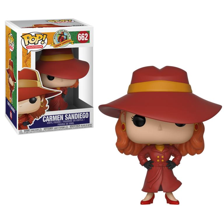 POP! Television: Where in the World is Carmen Sandiego - Carmen Sandiego