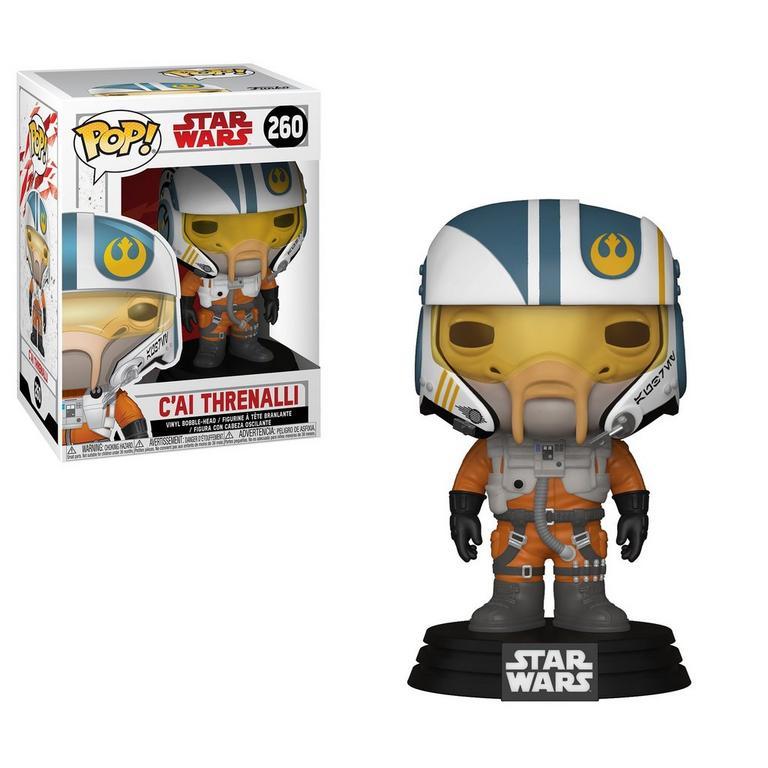 POP! Star Wars: The Last Jedi C'ai Threnalli