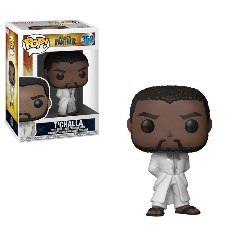 POP! Marvel: Black Panther T'Challa White Robe