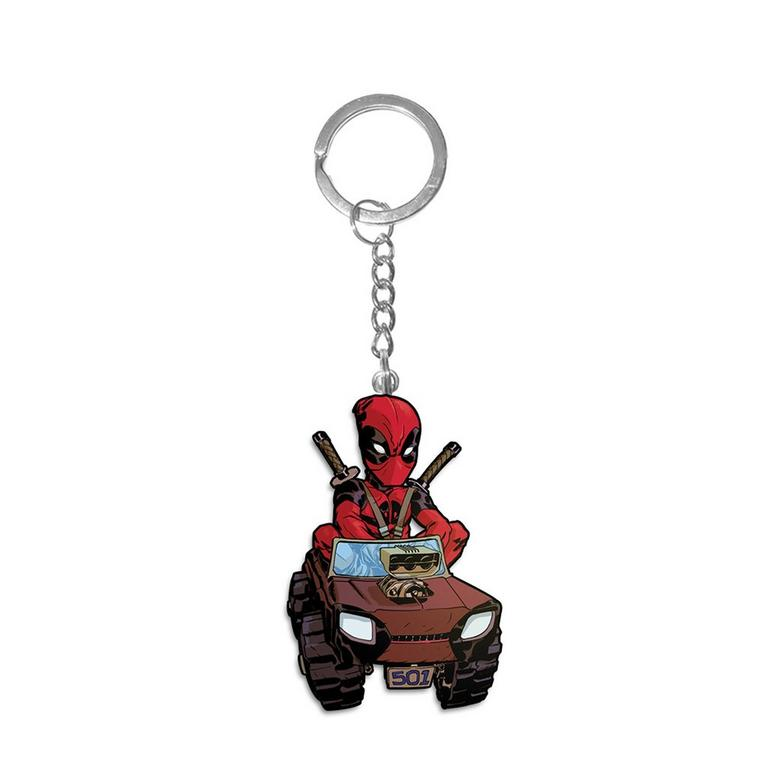 Deadpool Truck Keychain