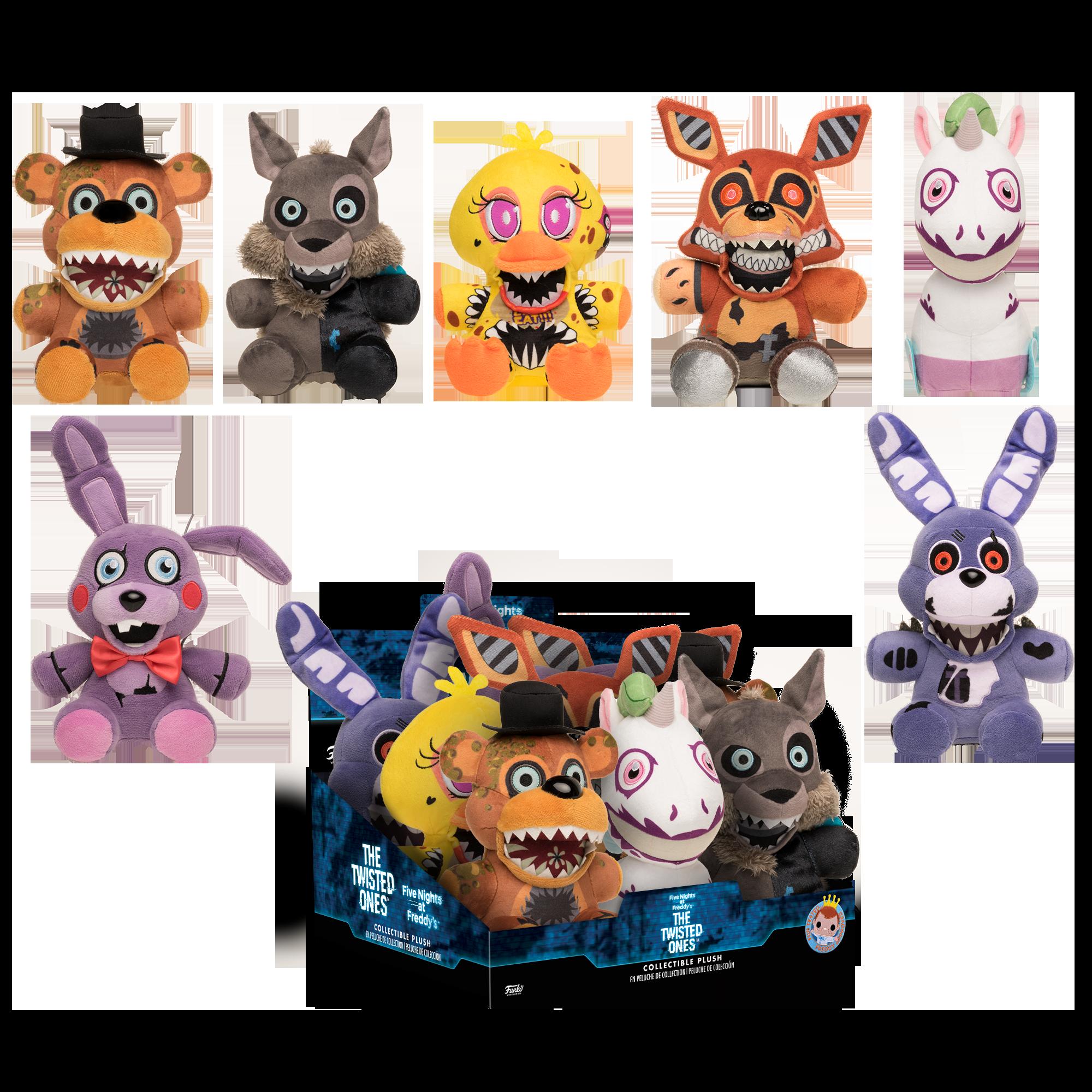 Koala Stuffed Animals Mini, Five Nights At Freddy S The Twisted Ones Plush Assortment Gamestop