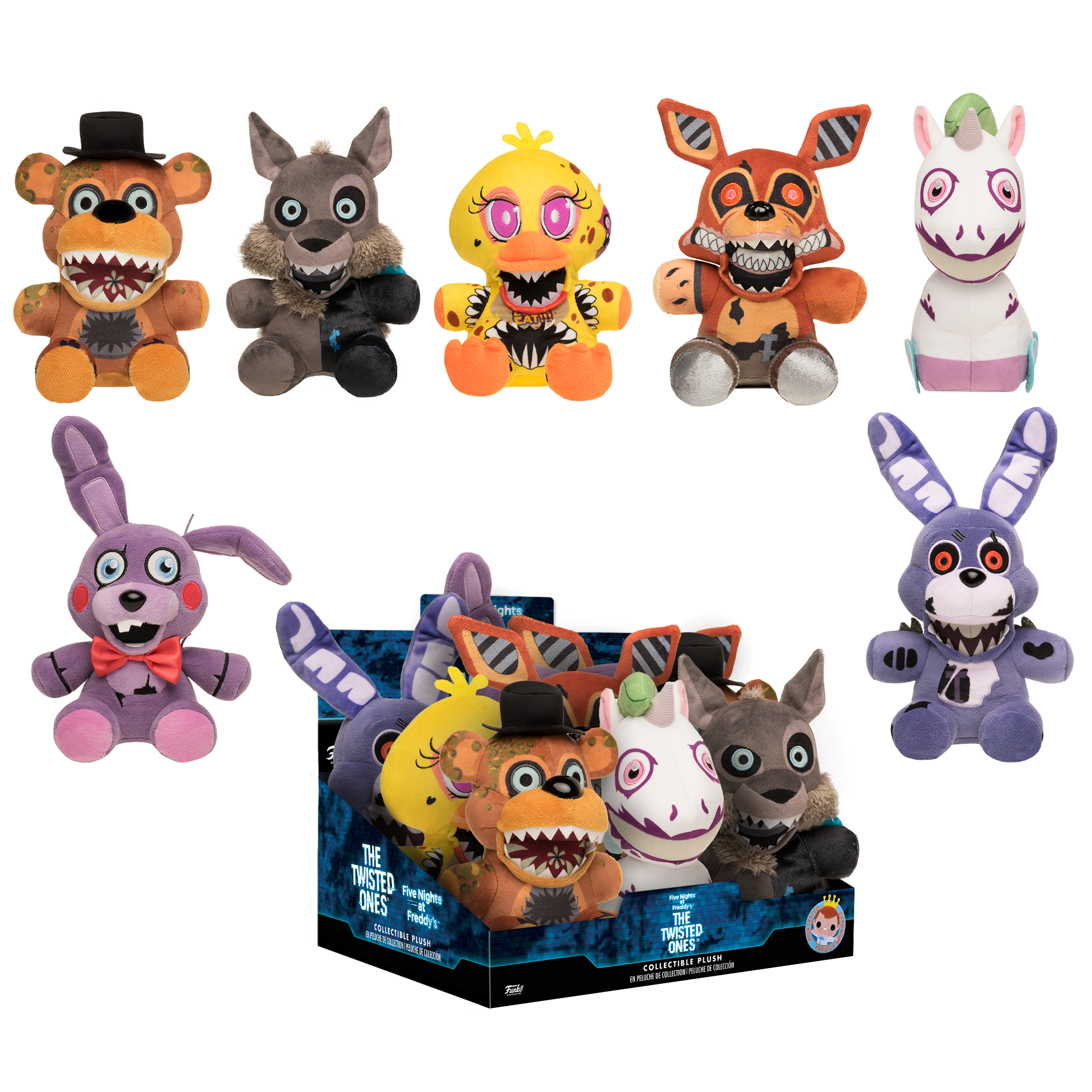 Funko Plush: Five Nights at Freddy's The Twisted Ones Plush | GameStop