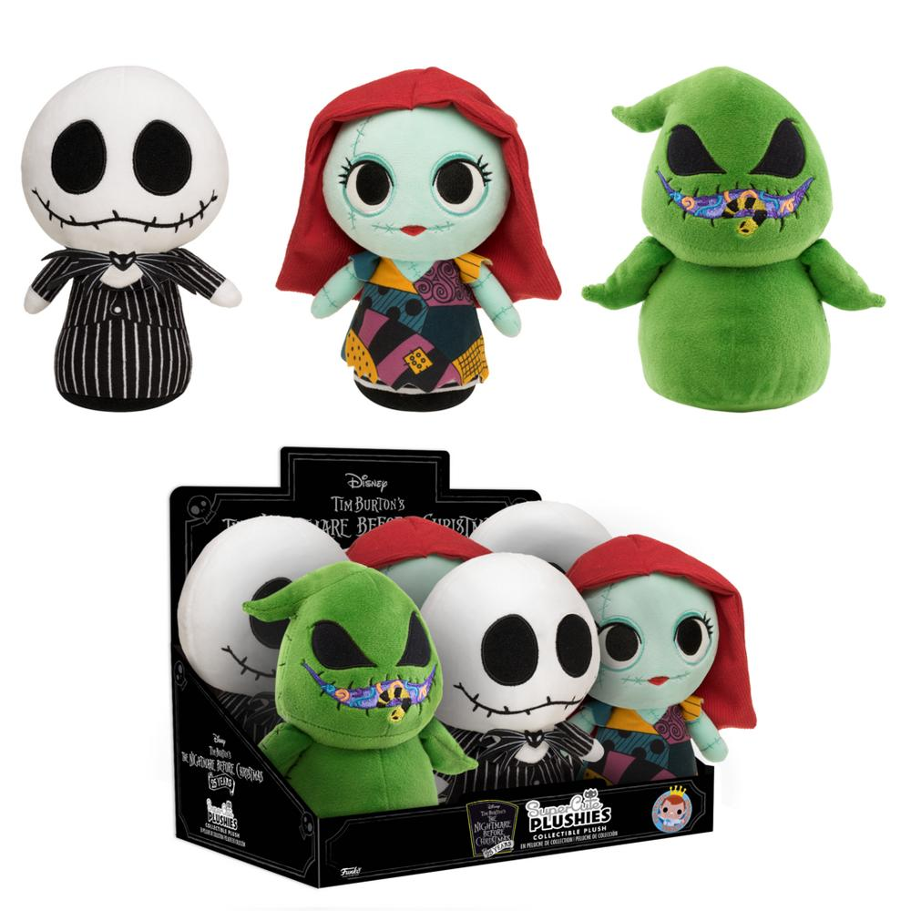 Christmas Toys.Nightmare Before Christmas Plush Assortment Gamestop