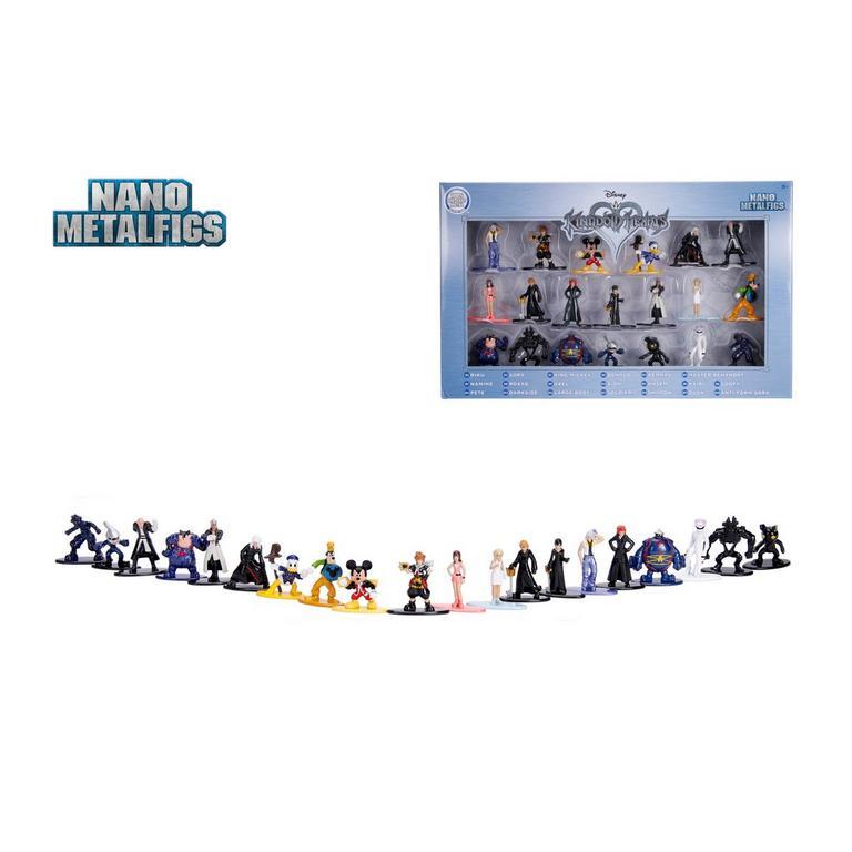 Kingdom Hearts Nano Metal Figure 20 Pack