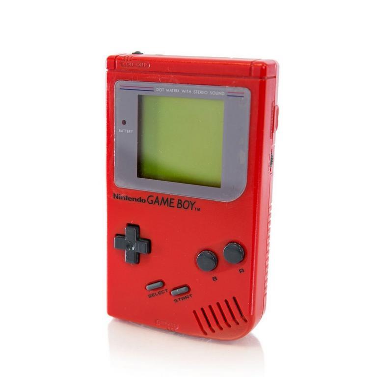 Game Boy Red System GameStop Premium Refurbished