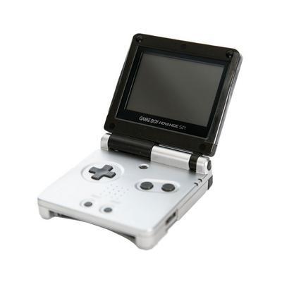 Nintendo Game Boy Advance SP - Black & Grey (GameStop Premium Refurbished)