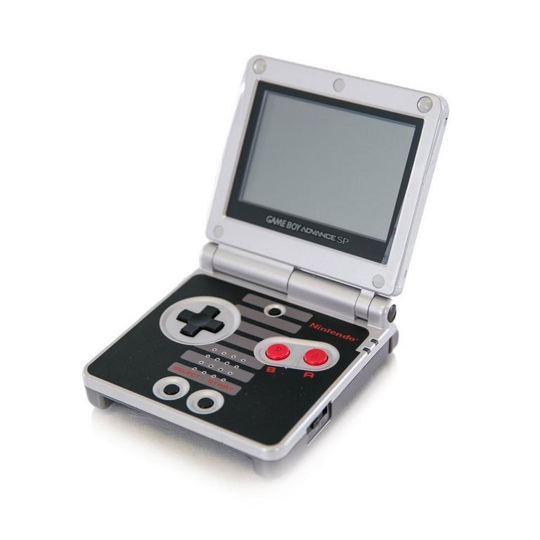 Nintendo Game Boy Advance SP - NES Edition (GameStop Premium Refurbished)
