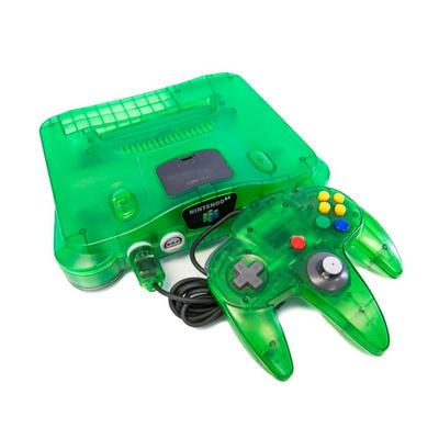 Nintendo 64 System - Green (GameStop Premium Refurbished)