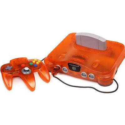 Nintendo 64 Orange