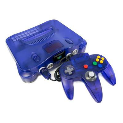 Nintendo 64 Purple