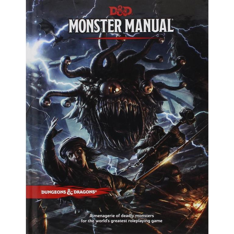 Dungeons and Dragons Monster Manual