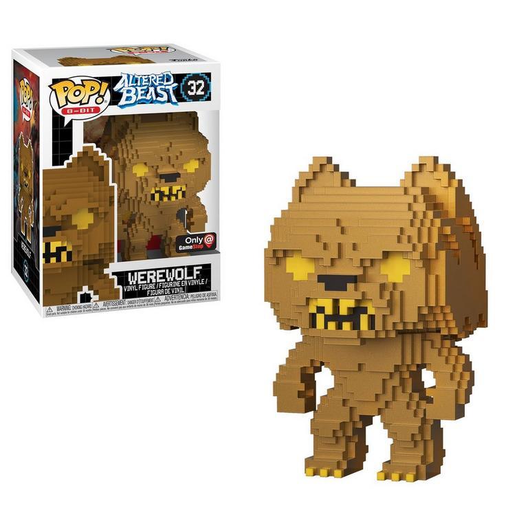 POP! 8-Bit: Altered Beast Gold Werewolf Only at GameStop