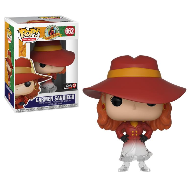 POP! TV: Where in the World is Carmen Sandiego Fading Carmen Sandiego Only at GameStop