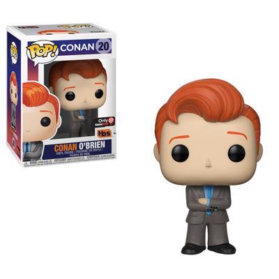 POP! TV: Conan - Conan O'Brien Suit - Summer Convention 2018 Exclusive Only at GameStop