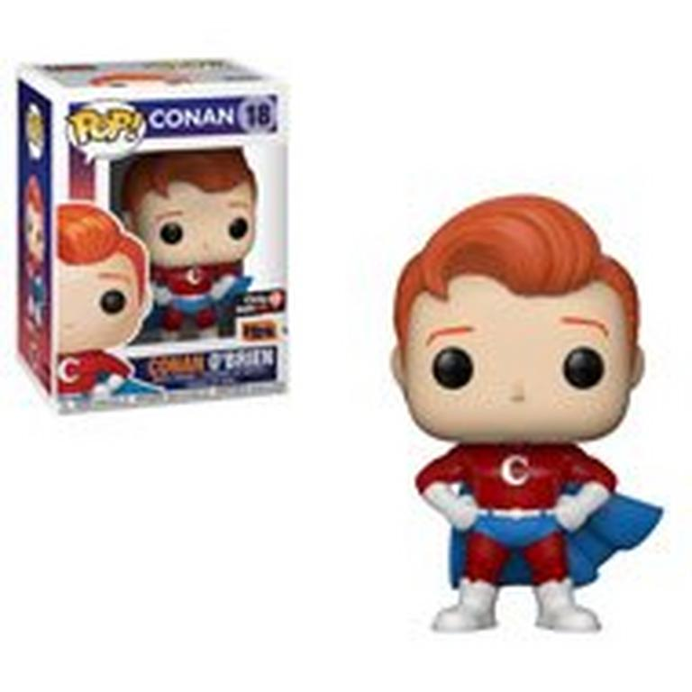 POP! TV: Conan - Conan O'Brien Super Suit - Summer Convention 2018 Exclusive Only at GameStop