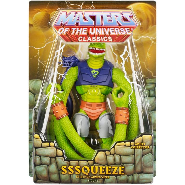 Masters of the Universe Collectors SSSqueeze Figure