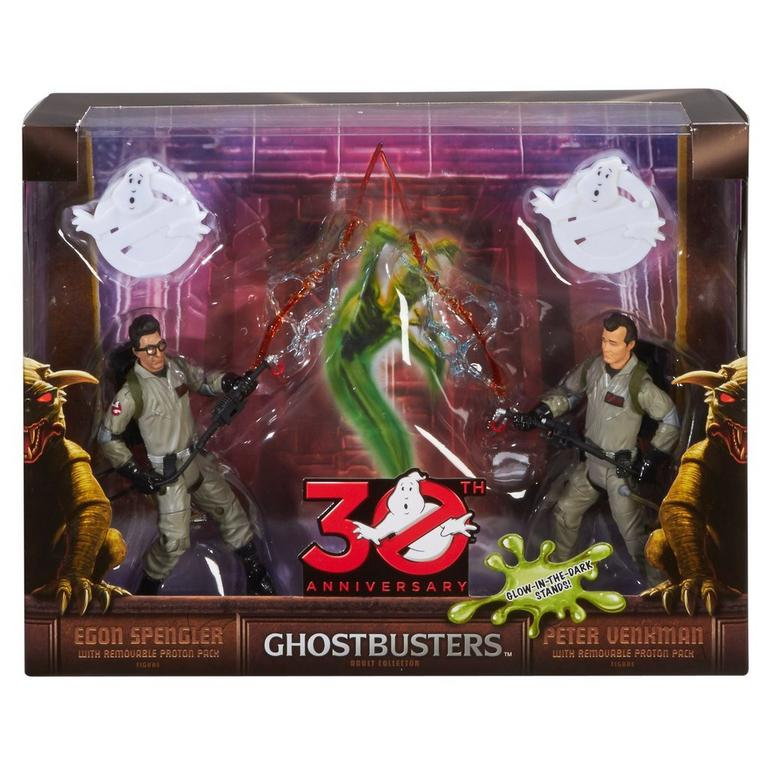 Ghost Busters Peter 30th Anniversary Peter Venkman and Egon Spengler Action Figure 2 Pack