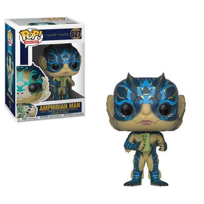 POP! Movies: The Shape of Water Amphibian Man with Card