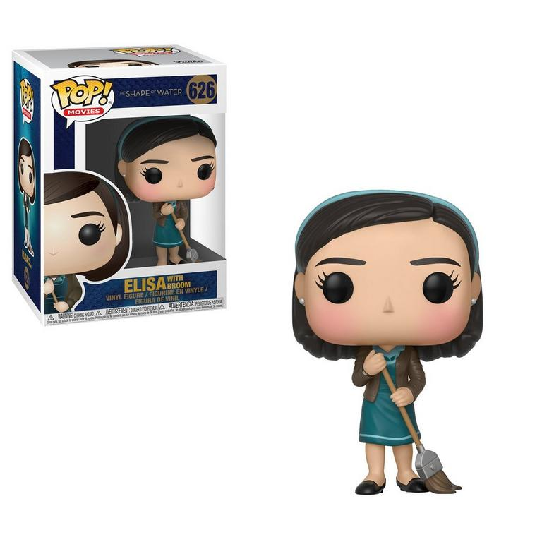 Funko POP! Movies: The Shape of Water Elisa with Broom